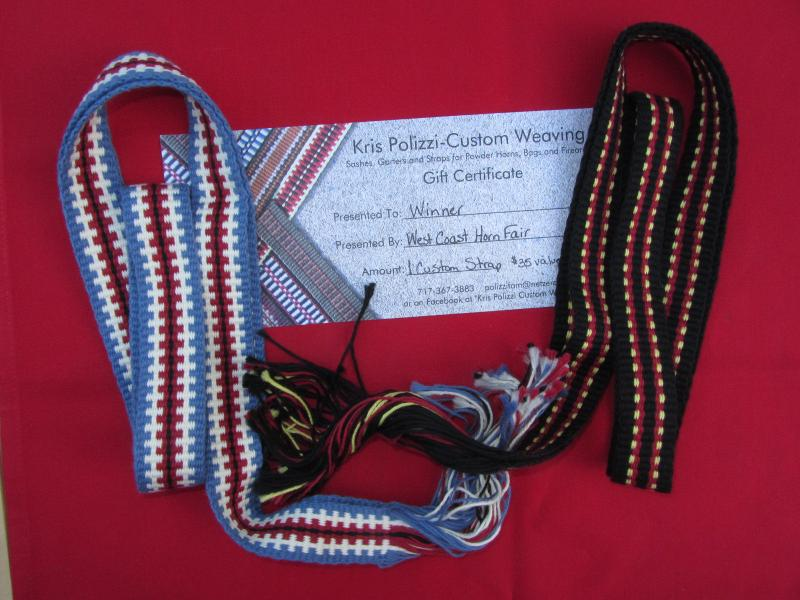 Polizzi 2 Straps and certificate for a custom strap