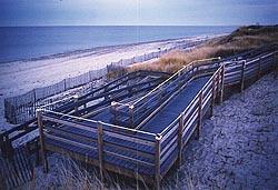 wheelchair ramp to the beach