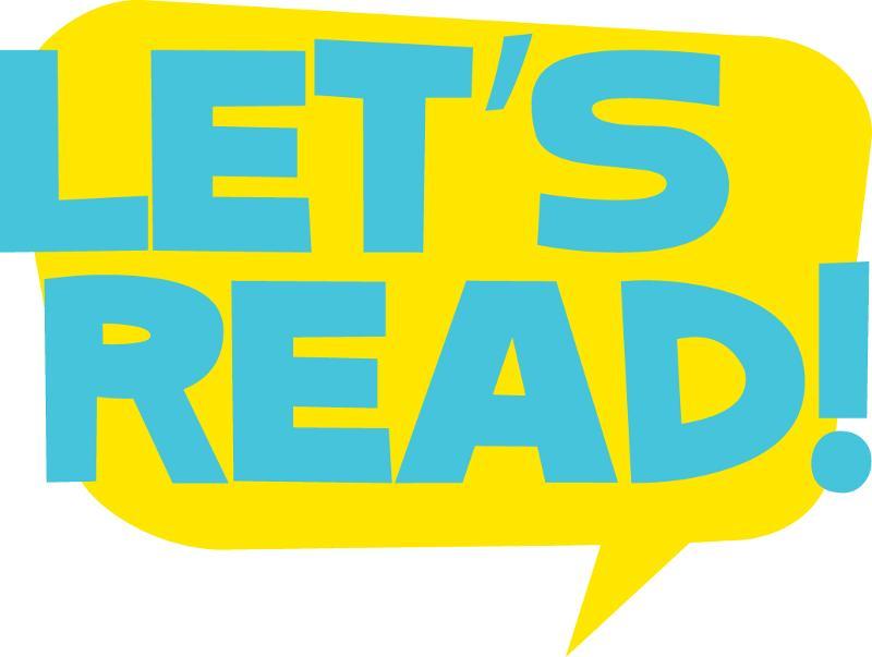 Let's Read logo