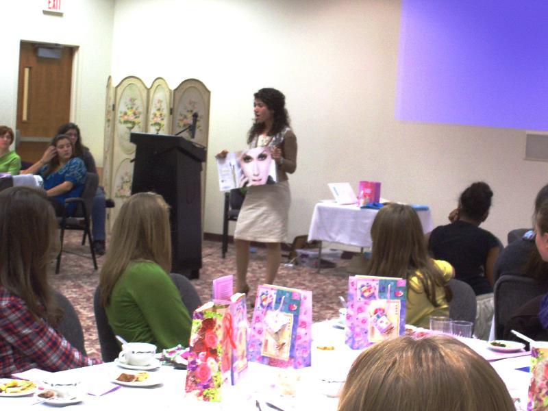 Mother Daughter Tea-Generation Life addresses group