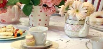 Tea Party Table for Invite