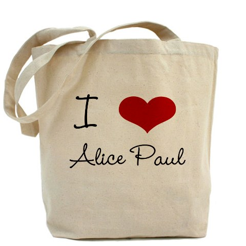 I Heart Alice Tote at CafePress