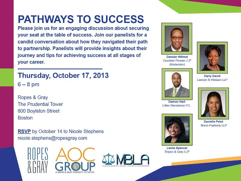 Pathways to Success Program 2013