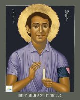 Harvey Milk icon by Robert Lentz