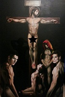 Crucifixion by Christopher Olwage