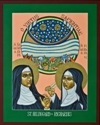 Hildegard of Bingen and Richardis by Lewis Williams