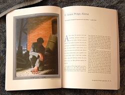 Jesus Prays Alone in Gay Passion of Christ book