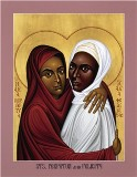 Saints Perpetua and Felicity by Robert Lentz