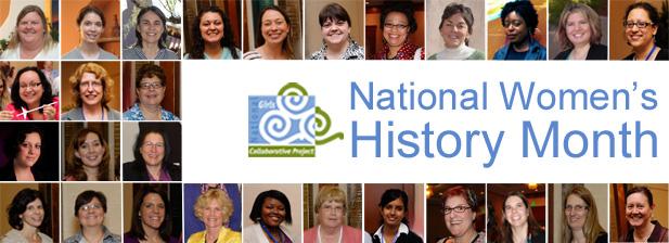 National Women's History Month Header