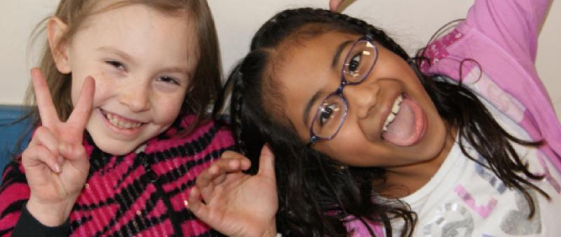 Woodburn Afterschool Program Photo of Girls