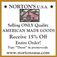 Norton's USA 15% off