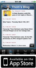 Thom Hartmann app