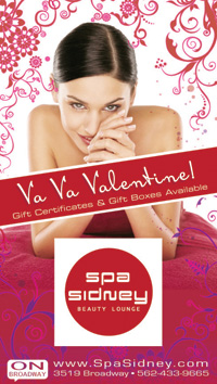 Spa Sidney Valentines Tall