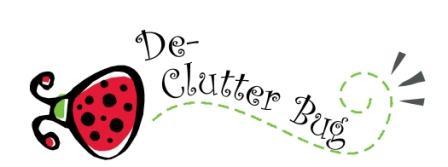 De-Clutter Bug Logo