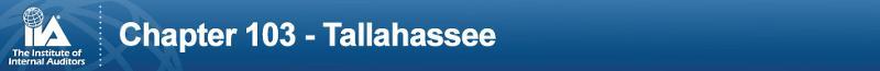 IIA Chapter 103 Tallahassee Header