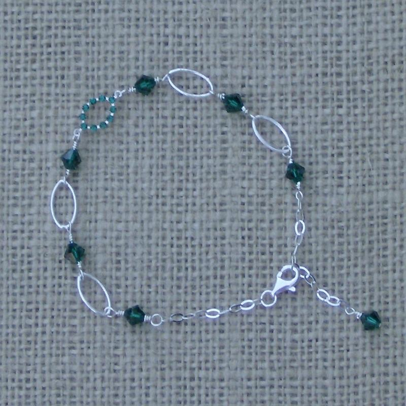 Oval Link Anklet AN1552