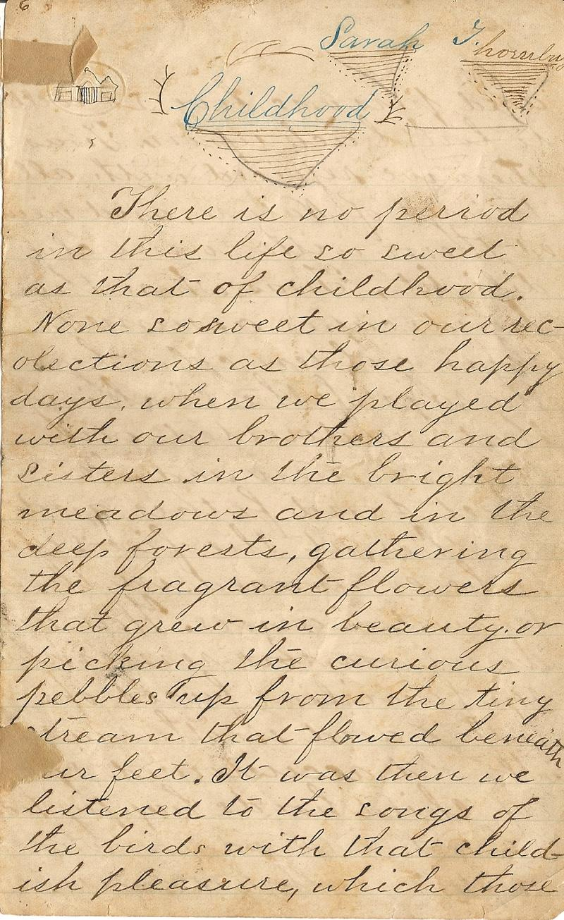 Sample Vintage Document