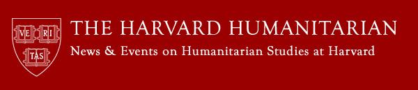 Harvard Humanitarian Newsletter Logo