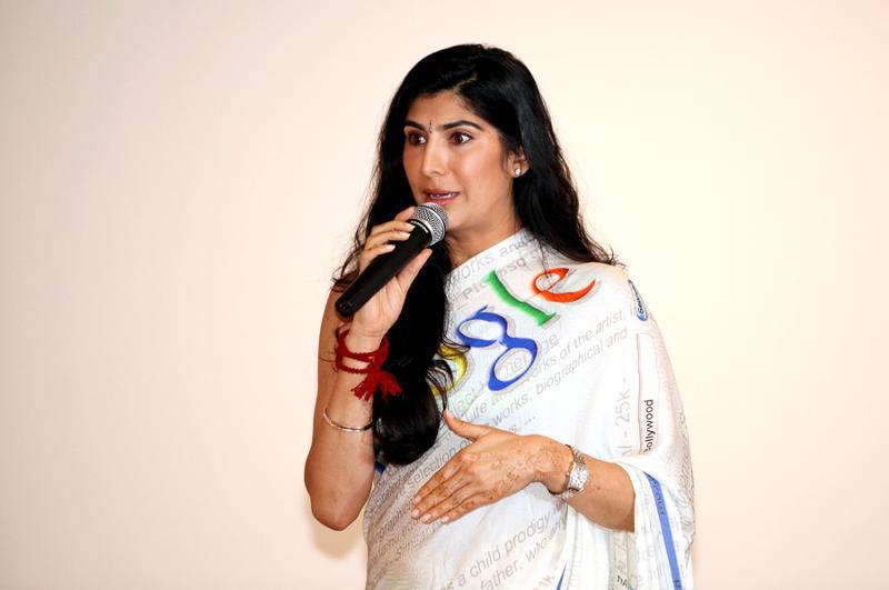 Sarina speaking 1 - Headshot