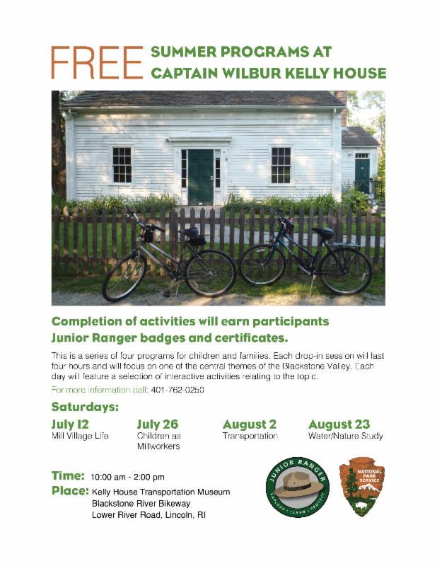 Free Kelly House Programs 2014