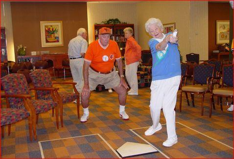 nursing home social