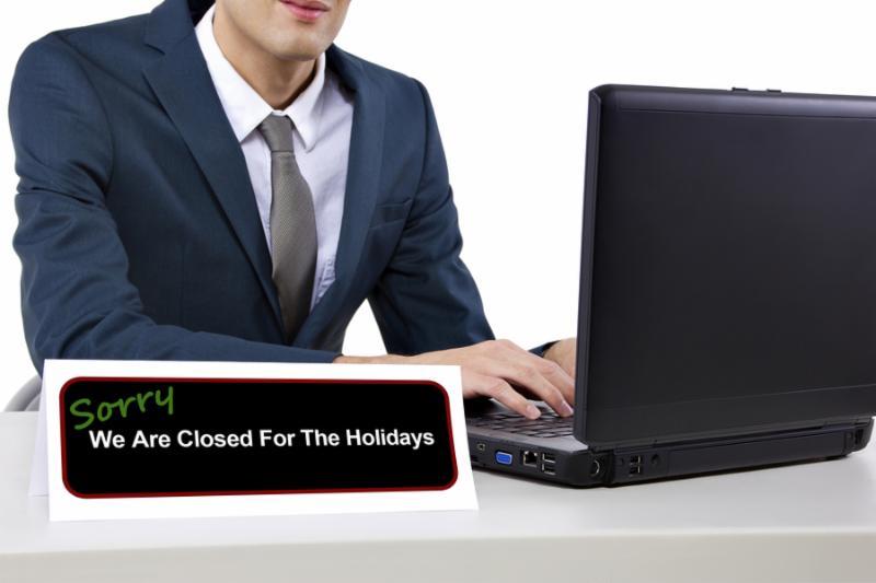 closed holiday