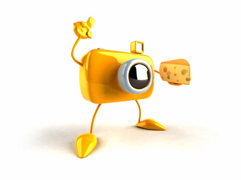cheese camera