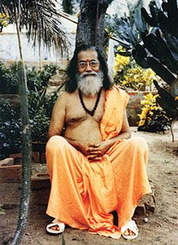 Gurudev at Karar Ashram