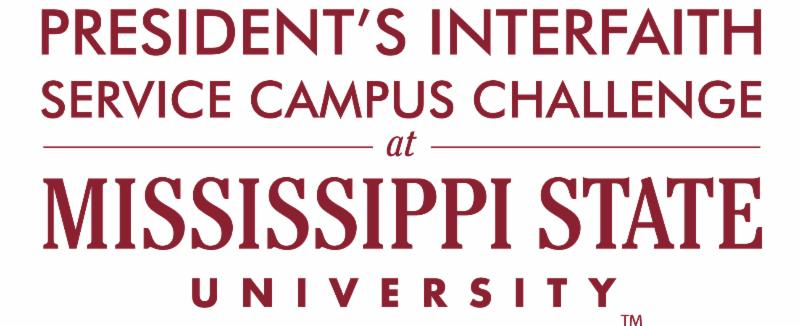 President's Interfaith Service Campus Challenge at Mississippi State University logo