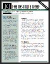Institute Brief #17 Thumbnail