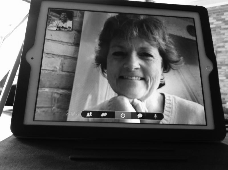 Patti Clifford ooVoo session