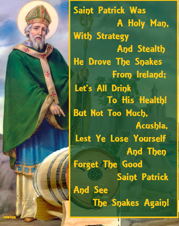 St. Patrick Drinking Song