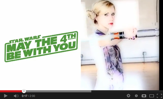 May the 4th YouTube Link