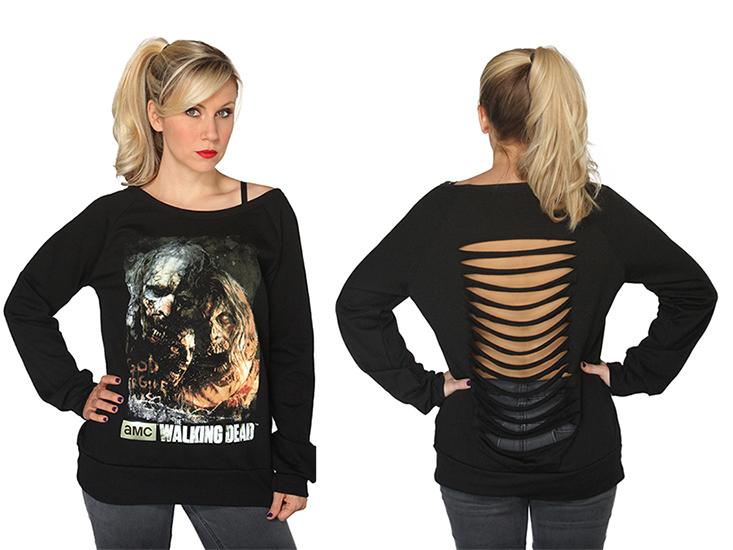 Zombie Poster Sweatshirt