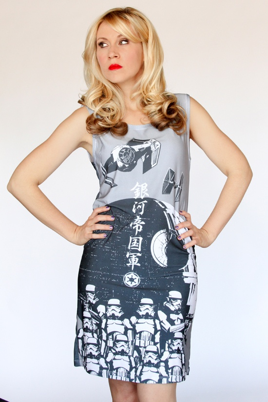 Her Universe Japanese Stormtrooper Bad Guy Dress