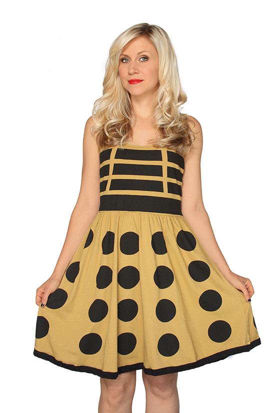 Gold Dalek Dress