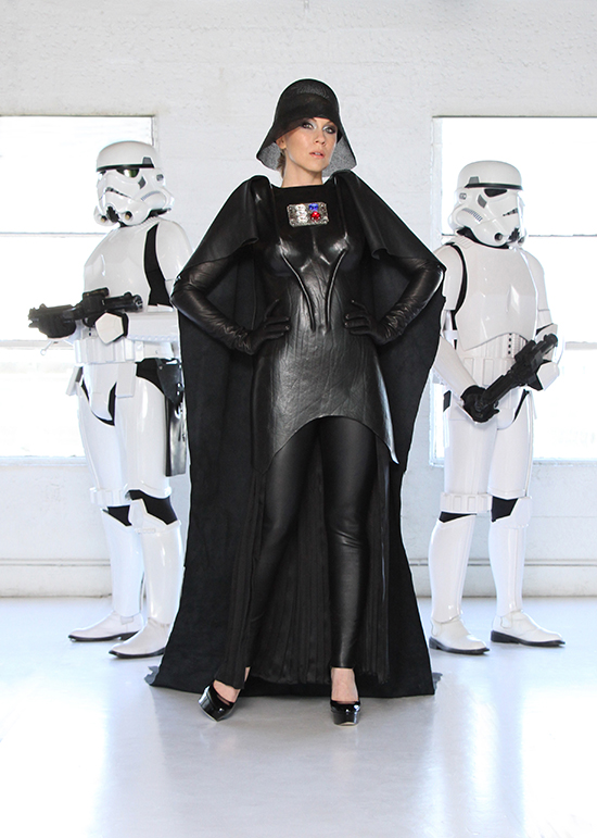 Ashley as Darth Vader