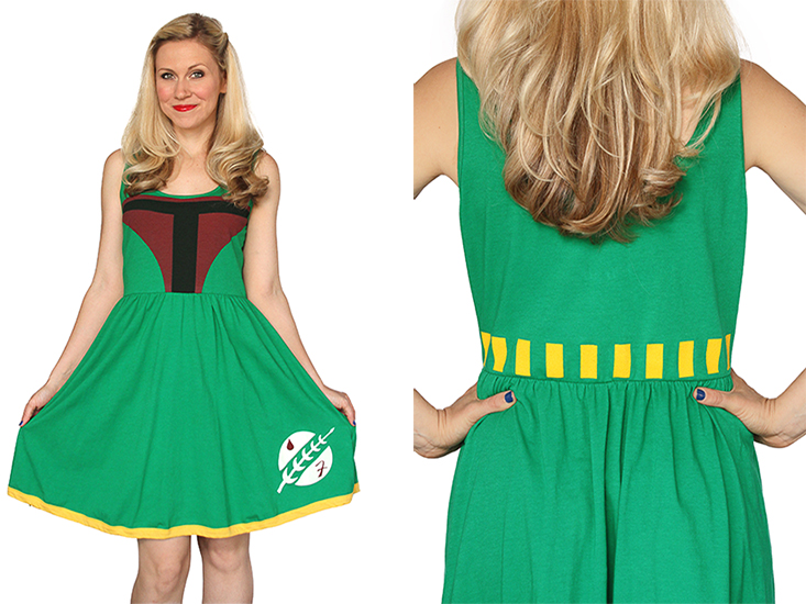 Boba Fett A-Line Dress