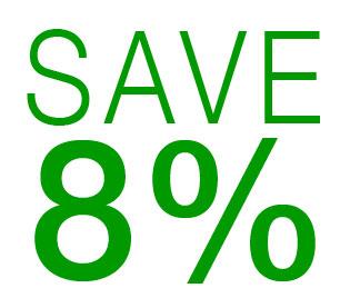 Save 8% Sale