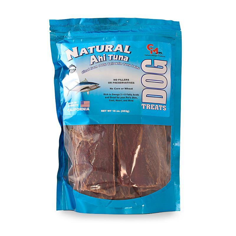 Carlson Morgan Natural Ahi Tuna Treats for Dogs 1lb. Bag
