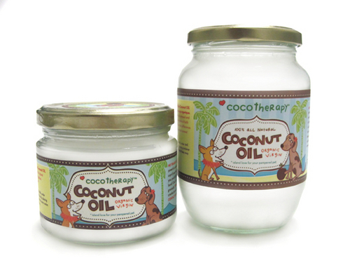 CocoTherapy Organic Virgin Coconut Oil for Dogs
