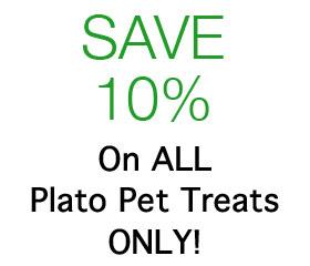 Save 10% Off On ALL Plato Pet Treats