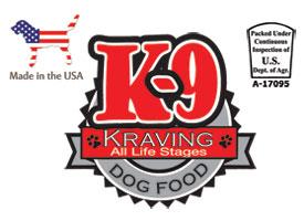 K-9 Kraving Logo
