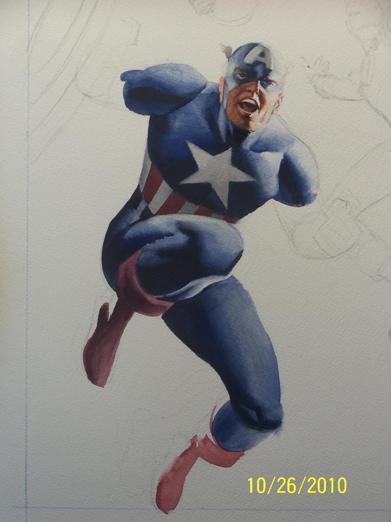 Cap in Progress