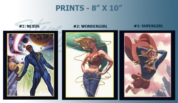 2013 Prints 1-3
