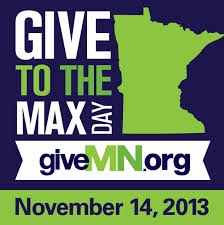 Give to the Max on November 14th!