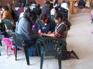 Church Praying