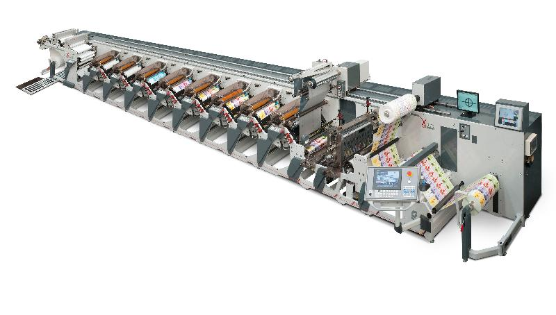 OMET X6 at Labelexpo