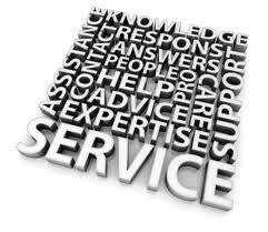 service graphic