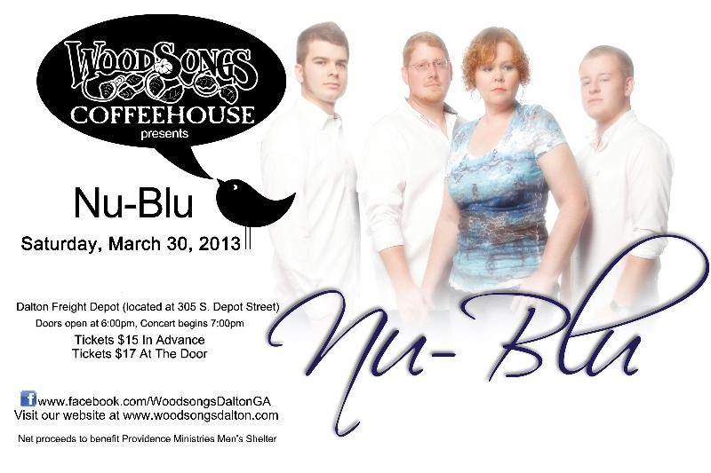 Nu-Blu at Woodsongs Coffeehouse Dalton